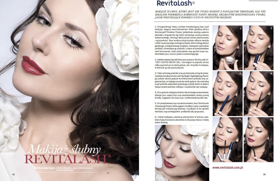 RevitaLash advertisement- Make-up Trendy Magazine 6/2015