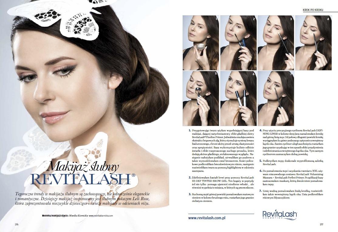 RevitaLash advertisement Make-up Trendy Magazine 5/2016