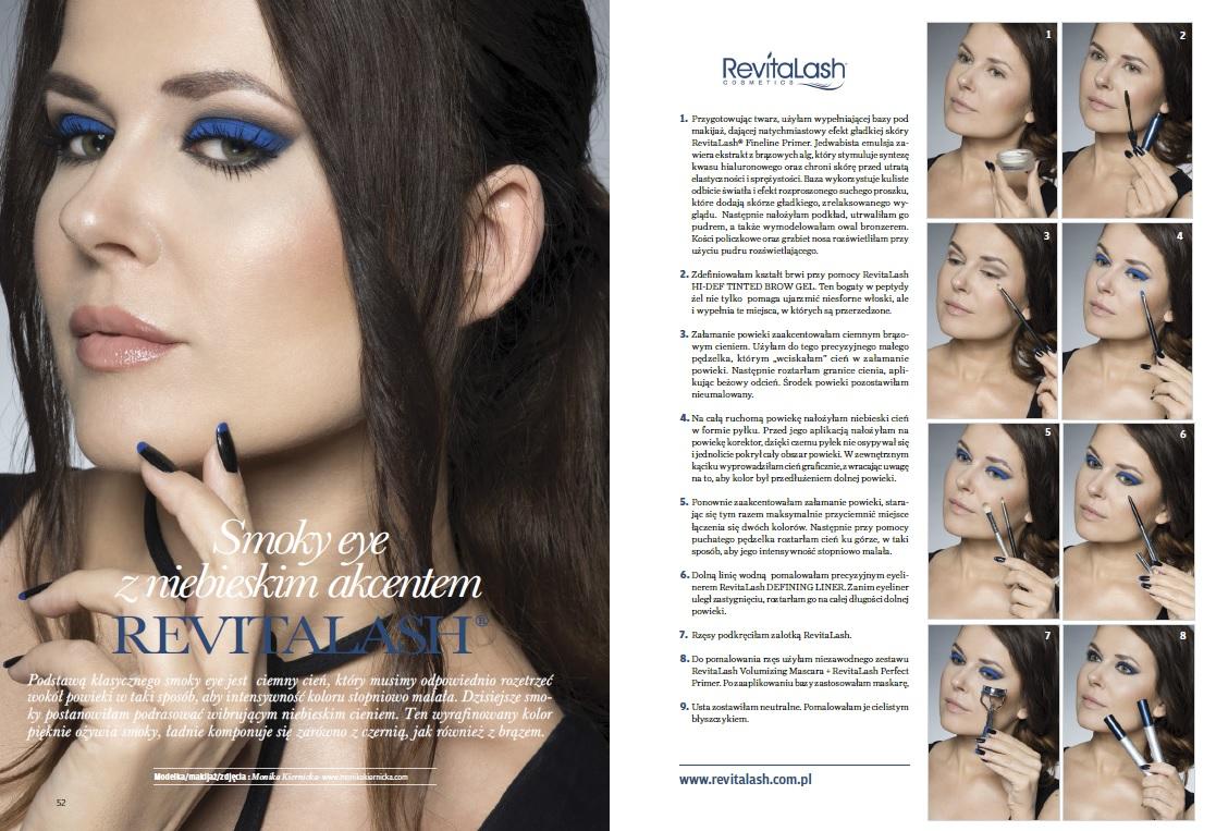 RevitaLash advertisement Make-up Trendy Magazine 9/2016